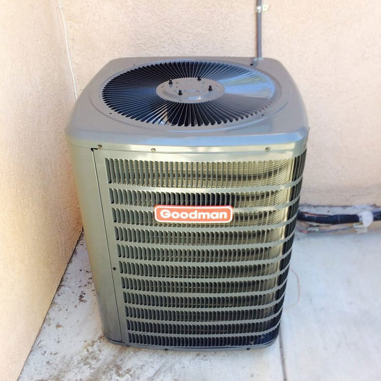 Goodman AC Unit Serviced By Air Techs Heating & Cooling